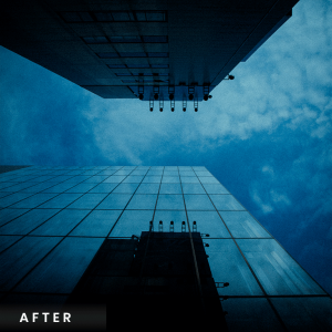Holga Lightroom Preset Blue Lens
